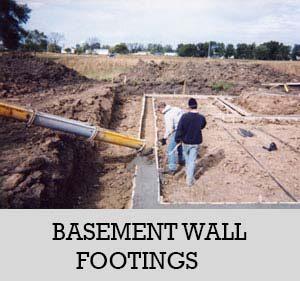 3 - basement wall footings