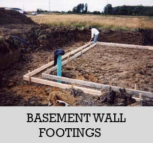 4 - basement wall foothings