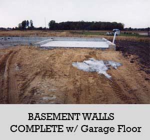 7 - basement walls garage floor