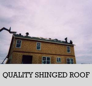 16 - quality shingled roof