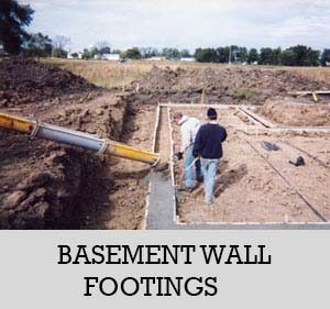 3 - basement wall footings